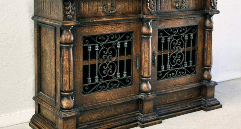 Old World Hand Painted Tuscan Furniture Dining Room Acocella