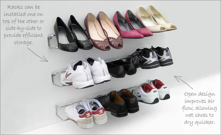 Ongoing Quest Clean Convenient Shoe Storage Maya Rodgers