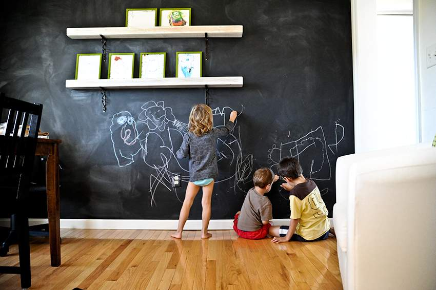 Only Natural Chalkboard Walls
