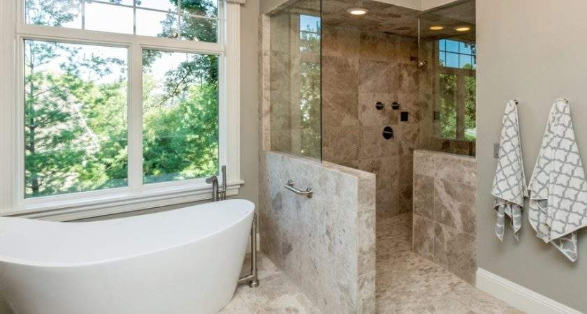 Open Shower Wheelchair Accessible Source Mansion