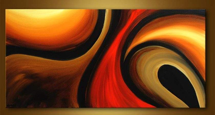 Paintings Natur Abstract Canvas Kids Scenes Love Beauty