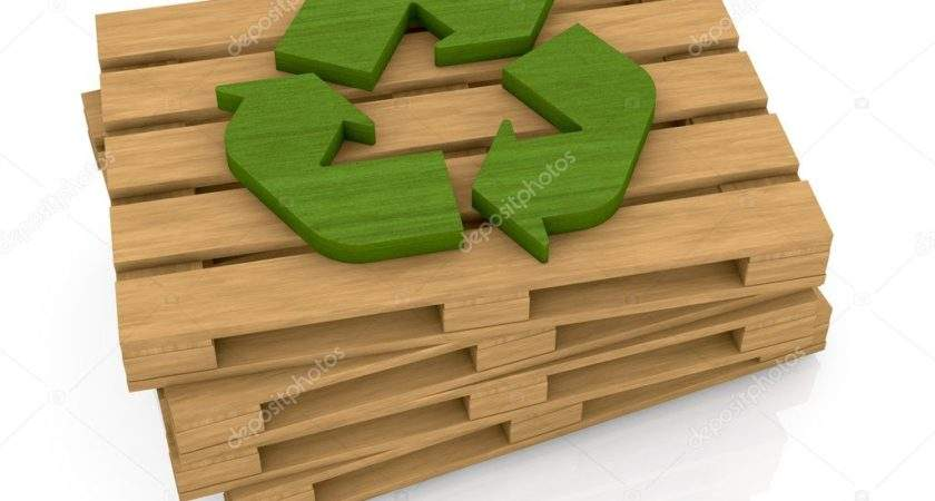 Pallet Recycle Symbol Lucadp