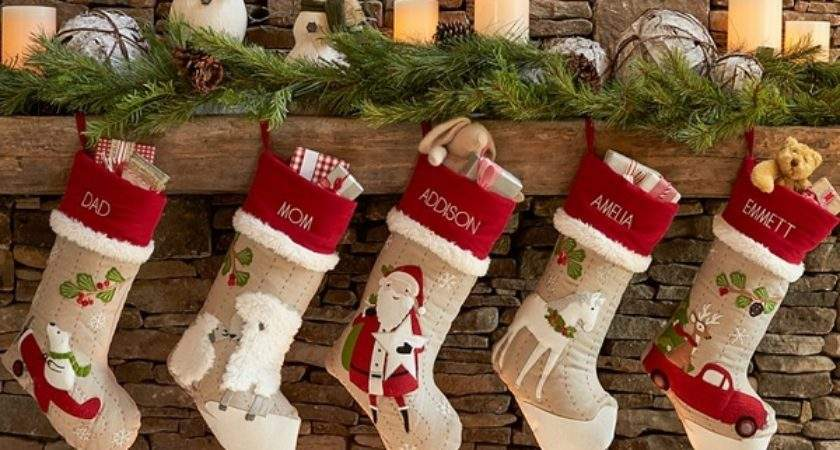 Personalized Monogrammed Christmas Stockings