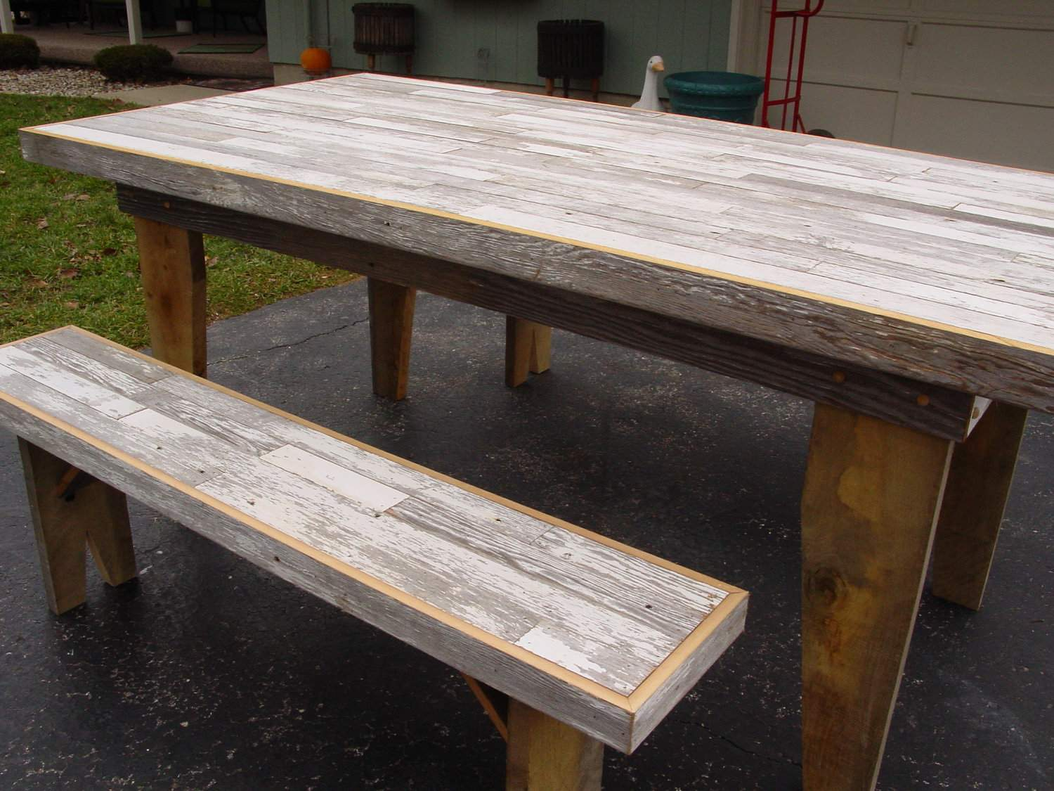 Reclaimed Dining Table Barn Wood Furniture Primitivearts