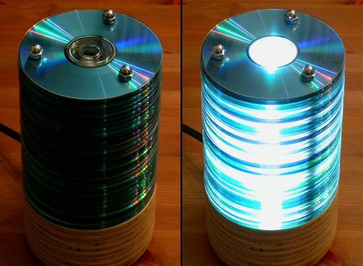 Recycle Old Cds Crafts Dvds Reuse