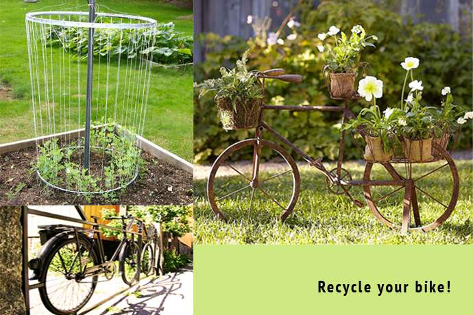 Recycled Art Projects Garden Ideas Recycle Old