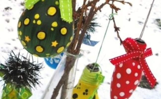 Recycled Christmas Craft Ideas Red Ted Art Blog
