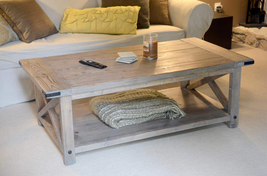Rustic Coffee Table Bread Boards Yourself Home Projects