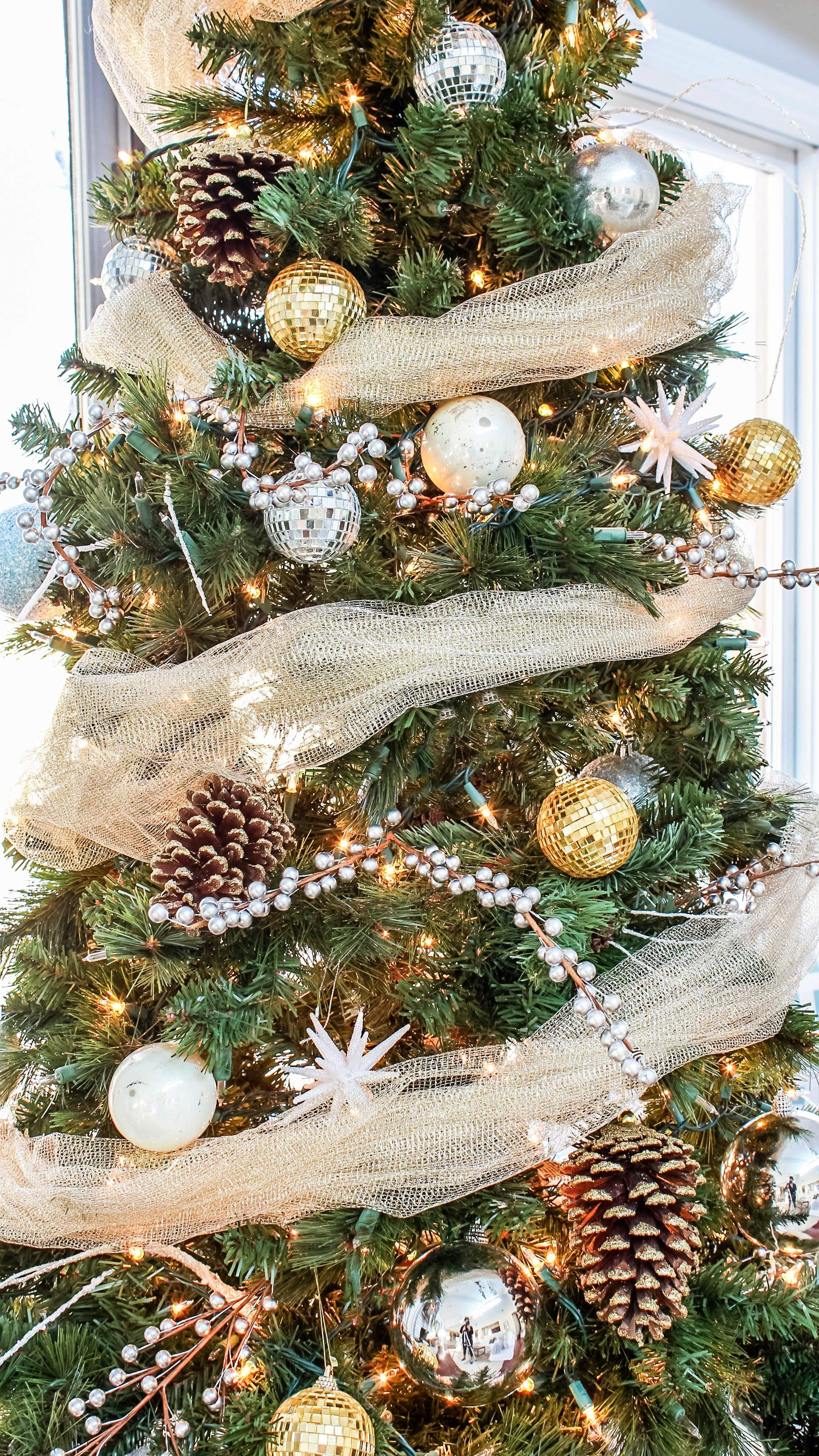Rustic Glam Christmas Tree Home Style Blog Hop