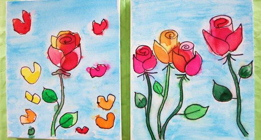 Simple Canvas Painting Ideas Kids Becuo