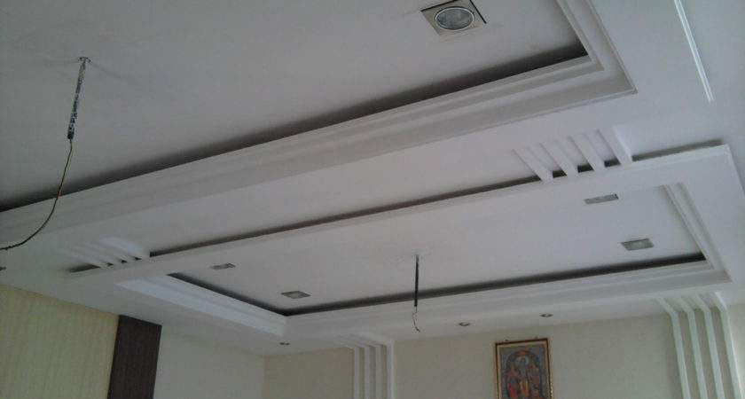 Simple Pop Ceiling Design Hall Home Combo