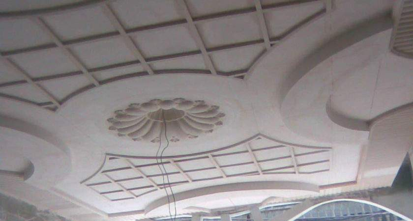 Simple Pop Without False Ceiling Design Lobby Home Combo