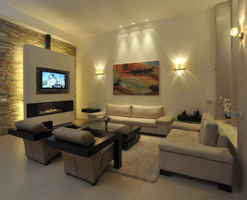 Small Living Room Designs Fireplaces Newhairstylesformen