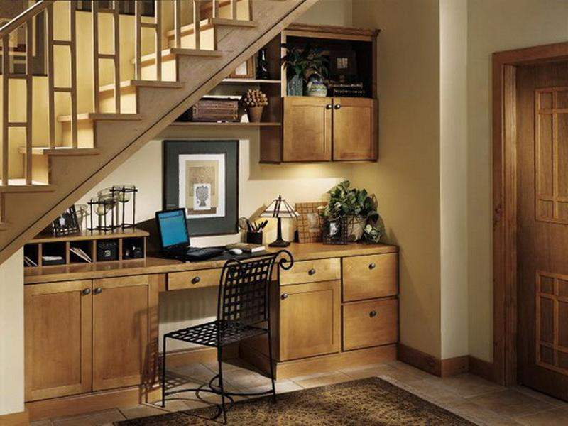 Stair Storage Solutions Home Office Under