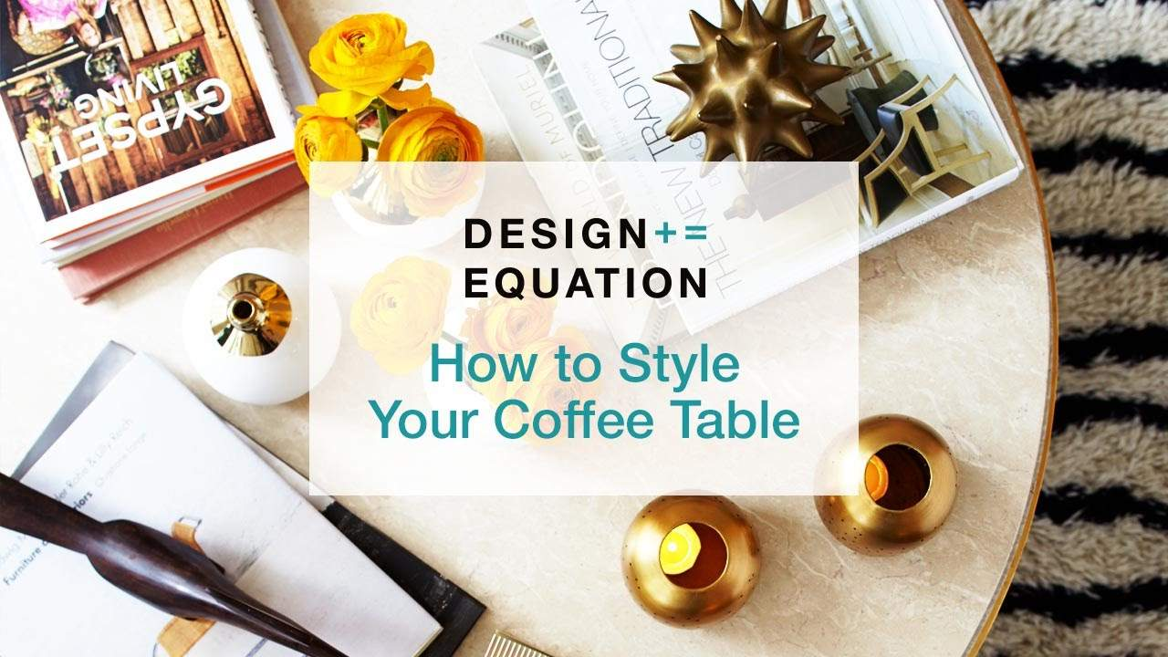 Style Your Coffee Table Youtube
