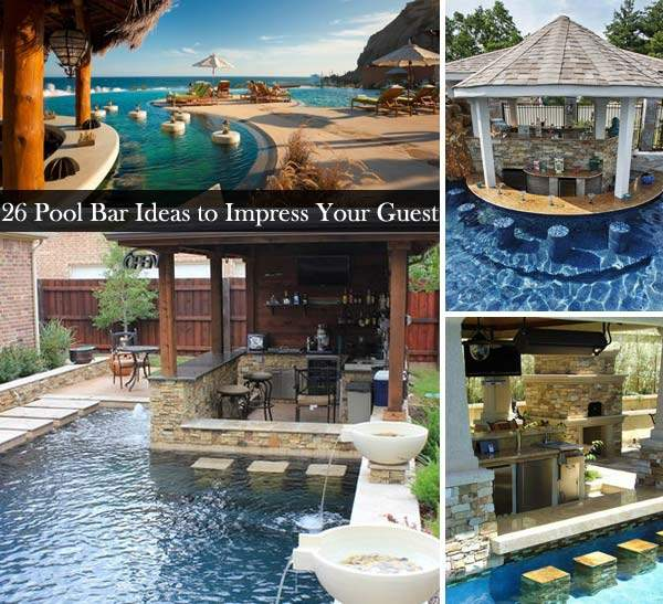 Summer Pool Bar Ideas Impress Your Guests Amazing