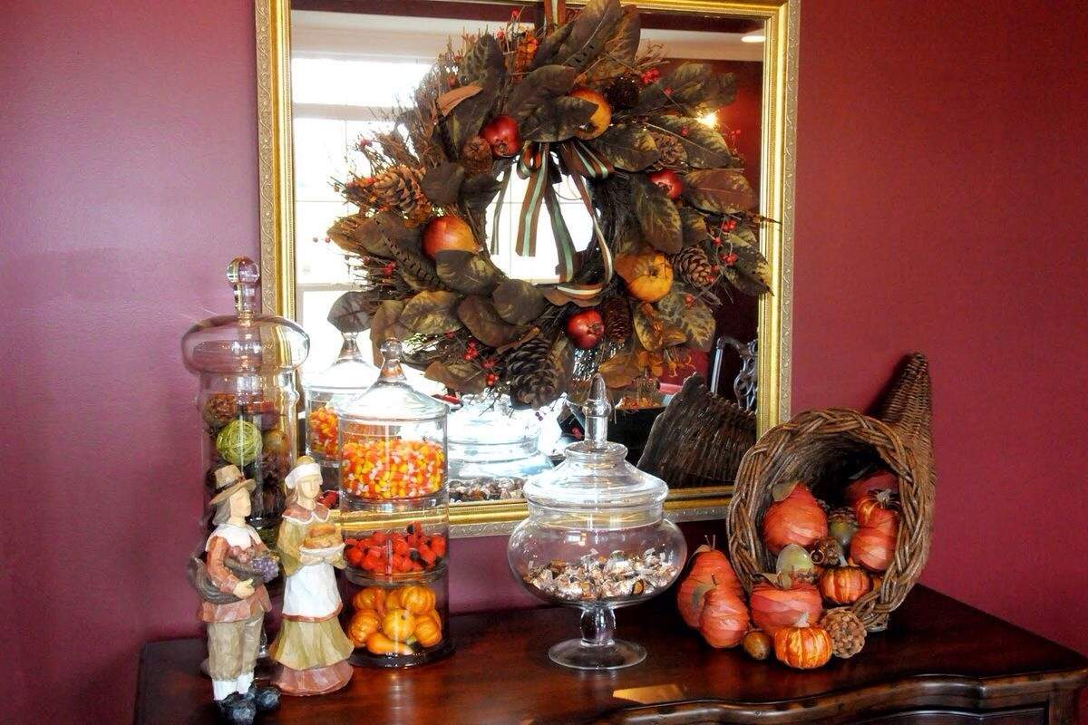 Thanksgiving Buffet Console Tables Sugar Sweet Homes