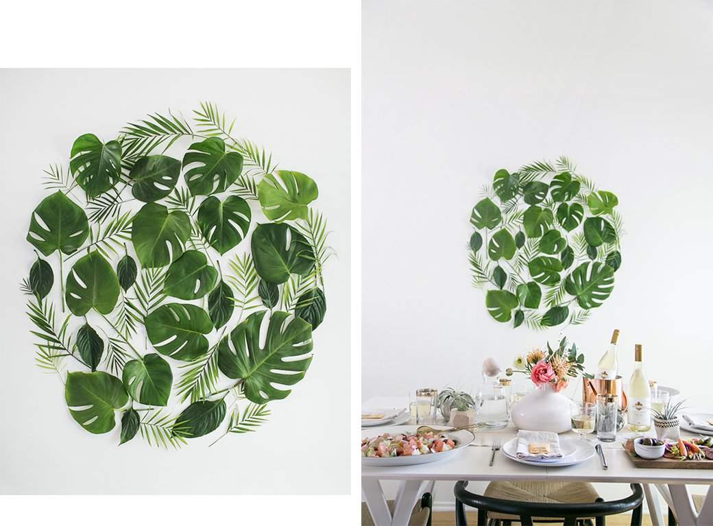 Trends Leaves Love Tropical Leaf Decor Ideas