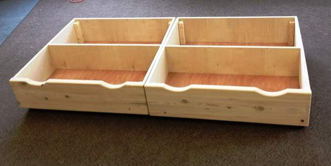 Under Bed Storage Ideas Could Buy Wood Make These