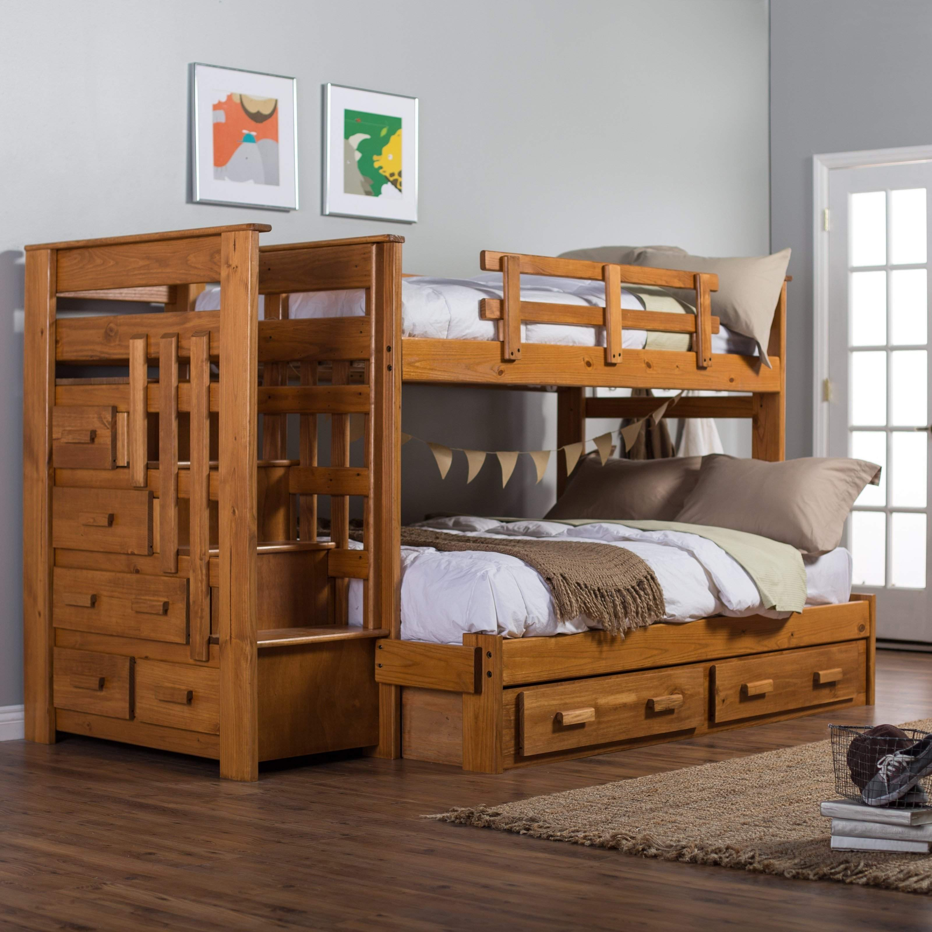 Unique Boys Twin Bed Wooden Houses