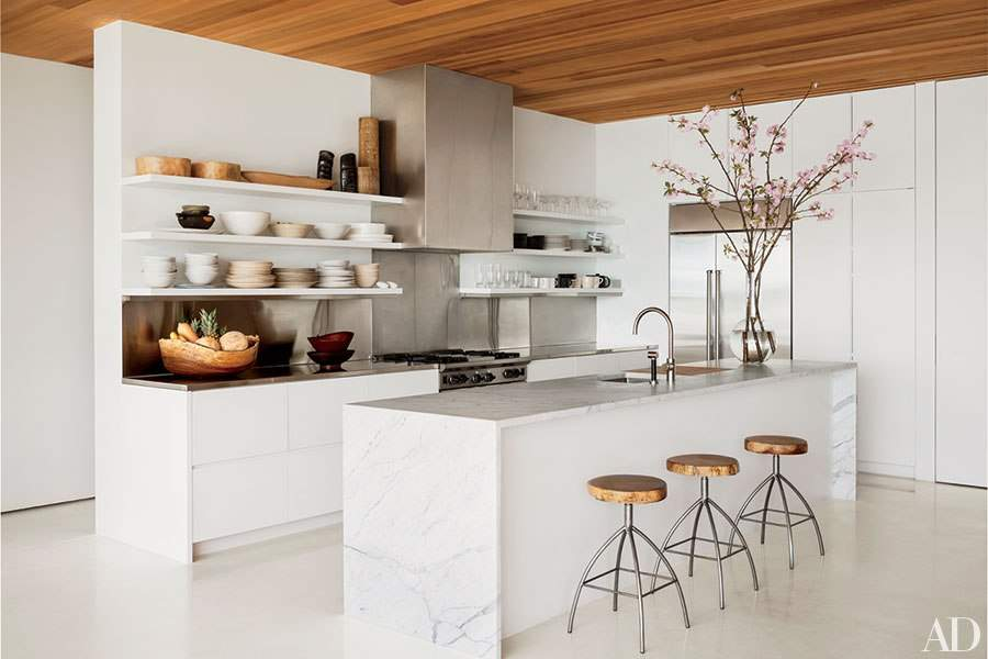 Ways Have Open Shelving Your Kitchen Huffington Post