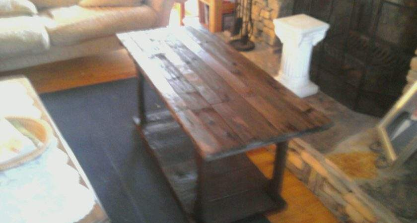 Wooden Pallet Coffee Table Made Things Make Think