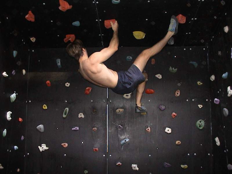 Woodie Home Climbing Wall Project Many Climber Has
