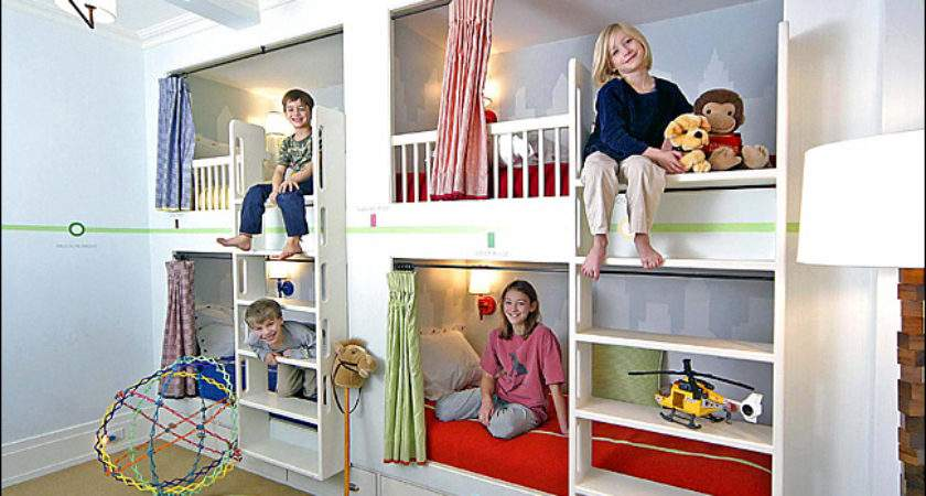 York Times Double Decker Harrises Pied Terre Beds Stacked
